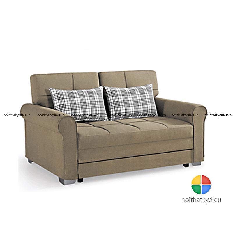 Sofa Giường Khung Gỗ Tự Nhien Sb1418 Homeid